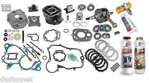 pack moteur culasse cylindre piston vilebrequin derbi aprilia gilera 50 euro3 ebay. Black Bedroom Furniture Sets. Home Design Ideas