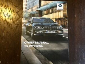 2019 Bmw 7 Series 740 Owners Manual Set With Case Ebay