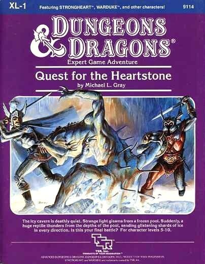 Dungeons & dragons  Quest for the Heartstone   xl 1   module