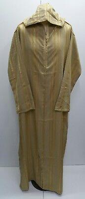 Size 60/&62 Men Moroccan hooded thobe//jalabiya.jubba.thobes.Fit size 60 /& 62