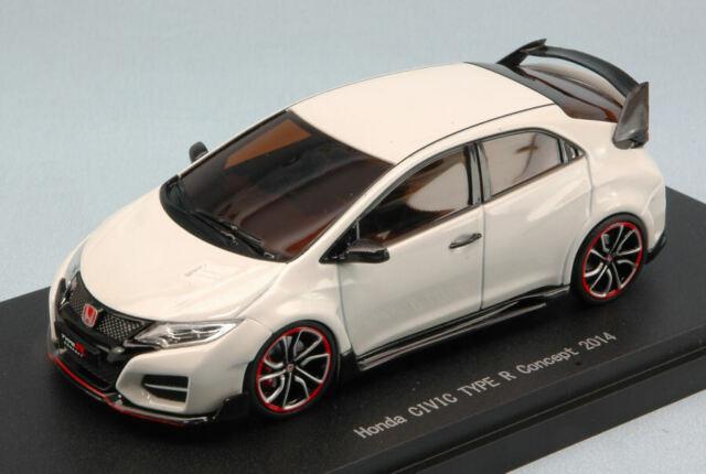Honda Civic Modèl R Concept 2014 Blanc 1:43 Model 45245 Ebbro