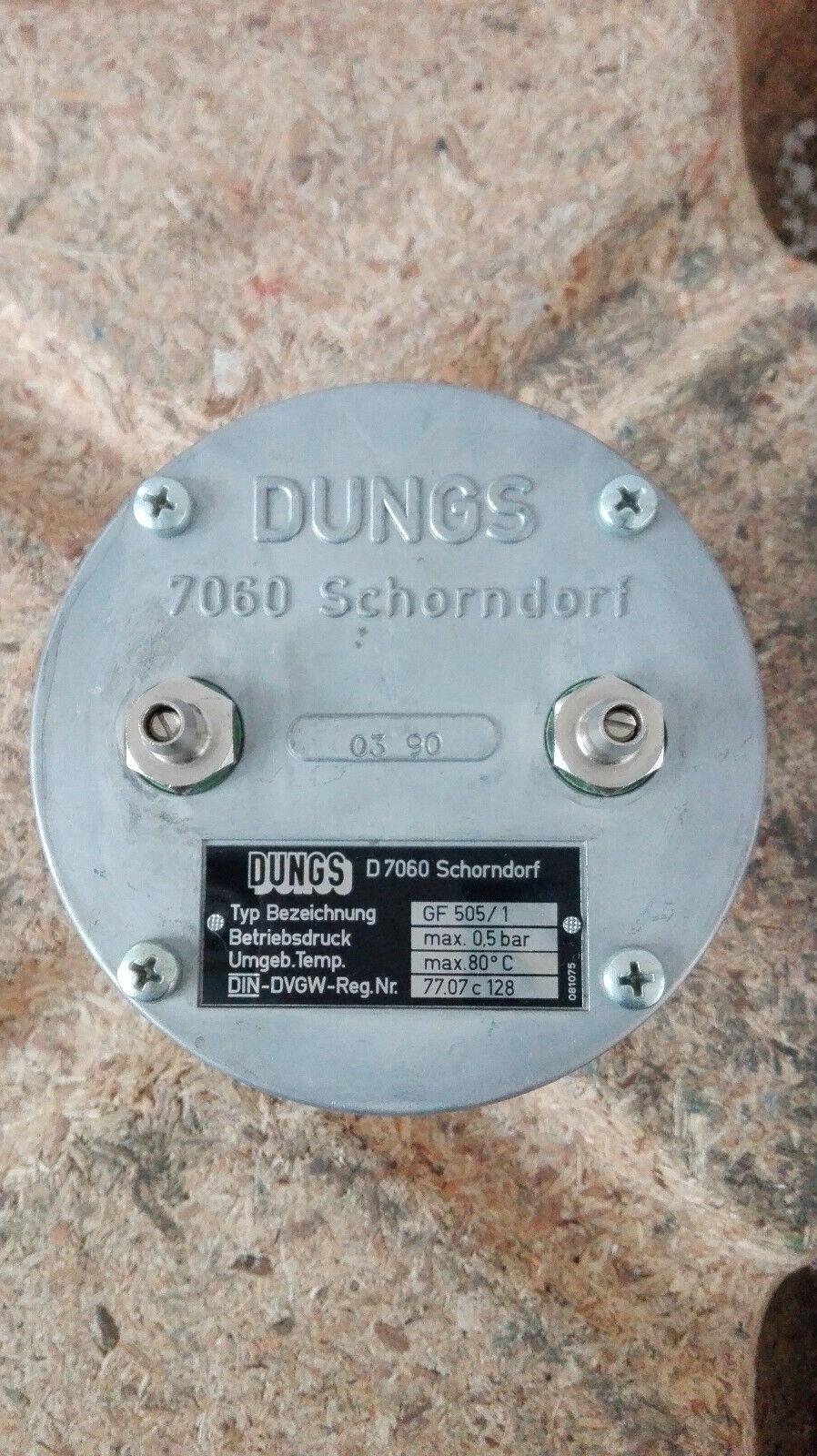 DUNGS Filter   Typ  GF505 1  Neuwertig