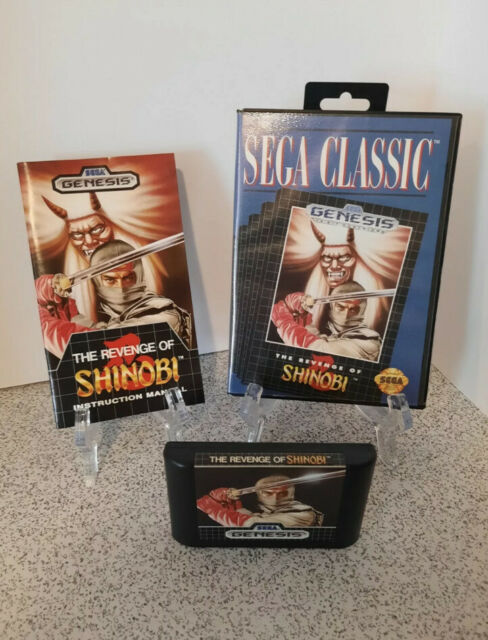 Revenge of Shinobi (Sega Genesis, 1989) Near Mint