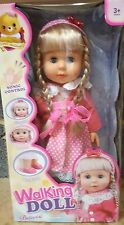 New Bellinda 40cm Walking Talking Singing Doll Battery Operated Sonic Control Uk
