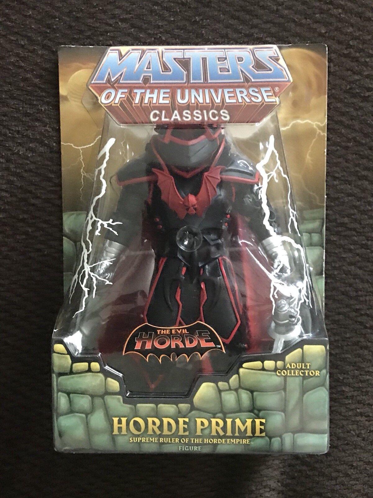 Masters Of The Universe classeeics HORDE PRIME  MOTU He-uomo nuovo  preferenziale