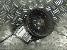 2002 MERCEDES C CLASS C270 W203 CDI BEHR HEATER BLOWER MOTOR WITH RESISTOR 90180