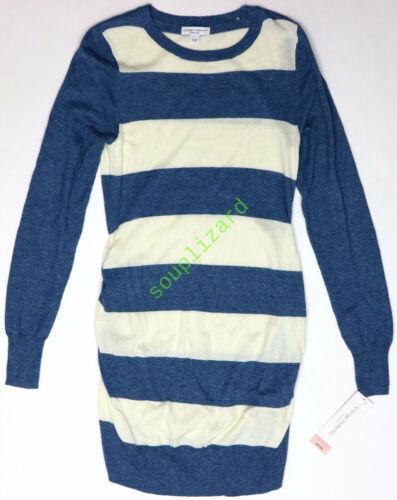 New Women/'s Maternity Clothes Long Sweater Liz Lange Blue NWT Size XL