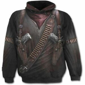 Spiral-Direct-Holster-Wrap-Hooded-Top