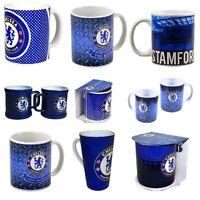 Official Football Club - CHELSEA MUGS Ceramic (Gift, Xmas, Present)