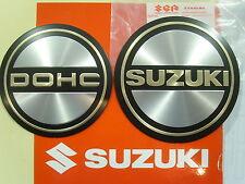 Genuine Suzuki Engine Case Emblem Set Left Right DOHC SUZUKI GS750 GS850 GS1000