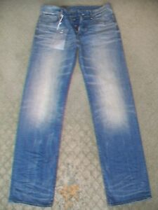 MENS-G-STAR-039-3301-LOOSE-039-STRETCH-JEANS-BNWT-SIZE-31-EXTRA-LONG