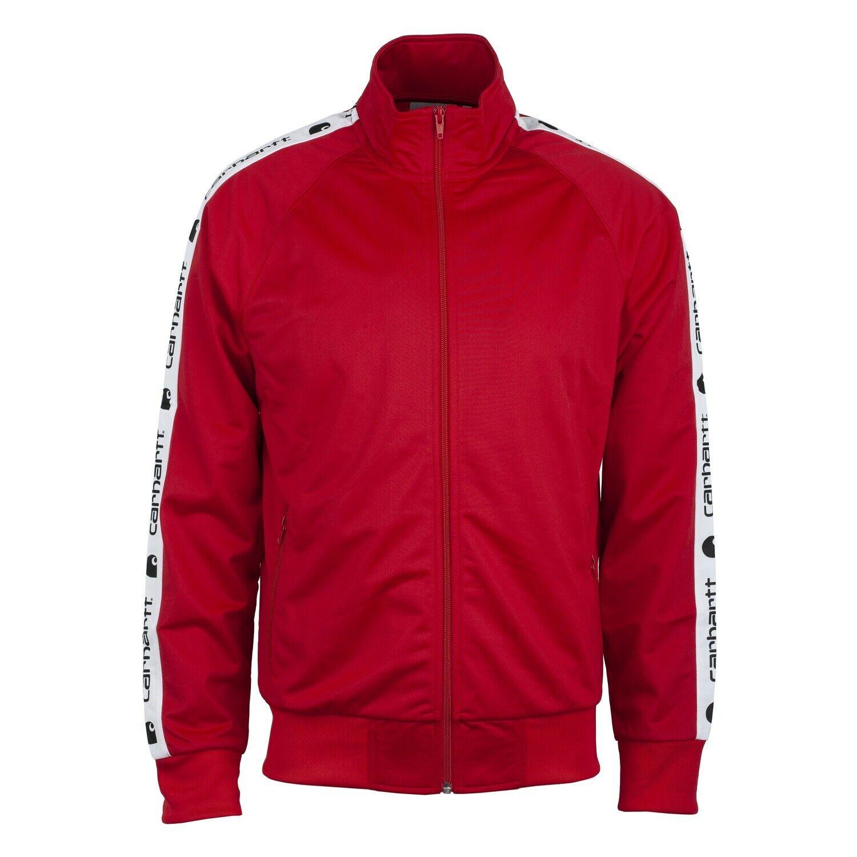Carhartt WIP Goodwin Track Jacket Herren cardinal rot