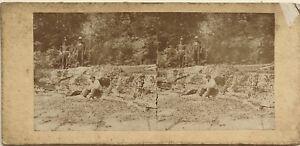 Scena-alla-campagna-Fotografia-Stereo-Vintage-Albumina