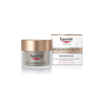 Eucerin Anti-Age Hyaluron-Filler +Elasticity NIGHT CREAM..