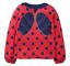 miniatuur 10 - Mini Boden Girls Bee/Ladybird Long Sleeves Top T-shirt Frill 3D Applique Stripe