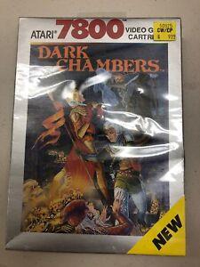 Atari-7800-Dark-Chambers-NIB-1988-Sealed