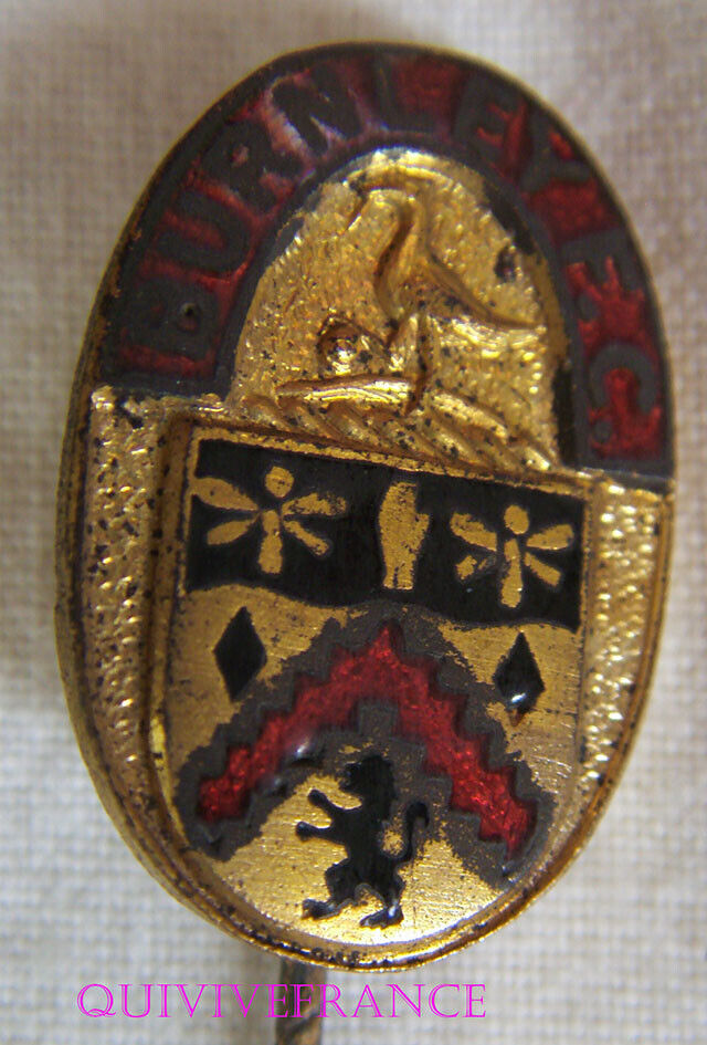 BG9553 - BURNLEY FOOTBAL CLUB Badge PIN