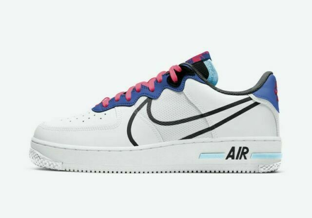 Size 11 - Nike Air Force 1 React Astronomy Blue 2020 for sale ...