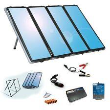 NEW SUNFORCE 50048 60W SOLAR POWER PANEL CHARGING KIT WITH 200 WATT INVERTER