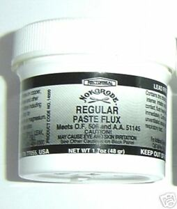 1-7-oz-Paste-Flux-Nokorode-LEAD-FREE-cleans-amp-fluxes-all-at-one-time