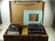 Graflex Super Graphic 4x5 Field Film Camera with 135mm lens w/many accessories