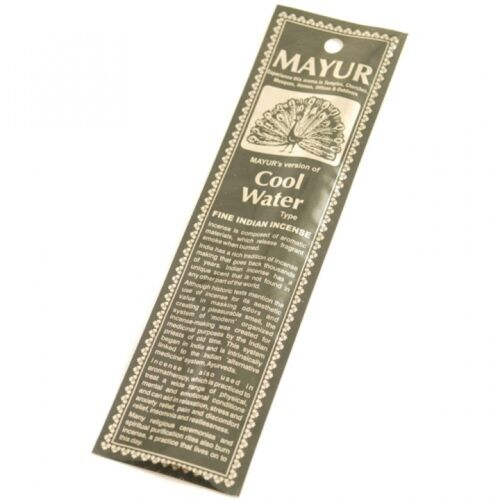 COOL WATERS INCENSE STICKS stocking filler Birthday Christmas Valentines