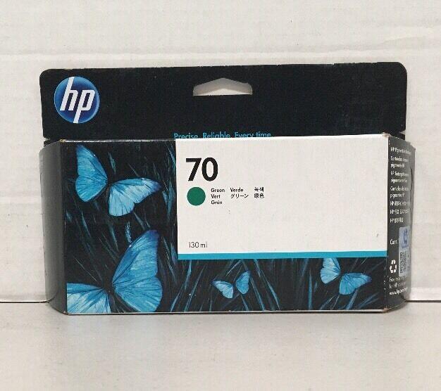 Genuine New Hp 70 Vivera Green C9457A Sealed HP Designjet Z3100 Z3200 OEM
