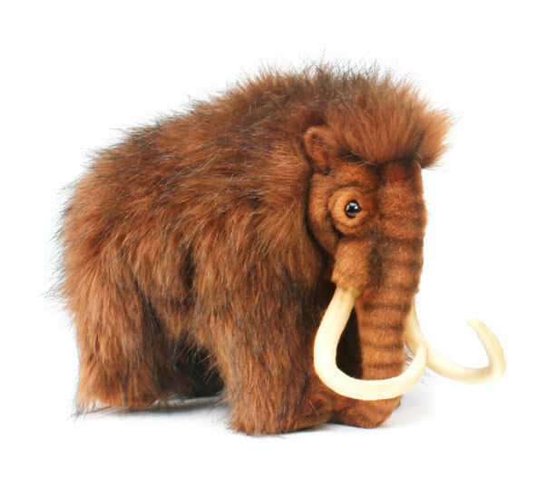 Mammoth collectable plush realistic soft toy by Hansa - 32cm - 4660