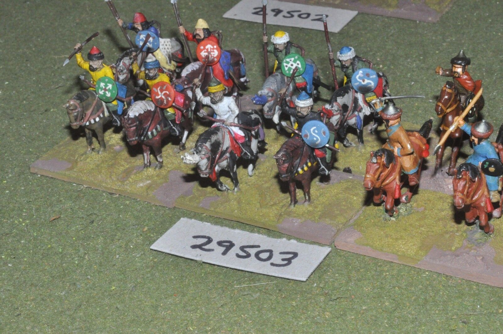 25mm medieval   turkish - light 12 figures - cav (29503)