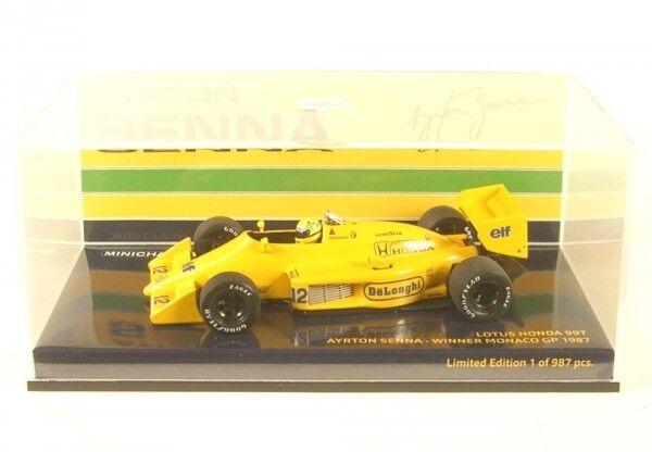 Lotus Honda 99 T no. 12 Winner Monaco GP FORMULA 1 1987 (Ayrton Senna)