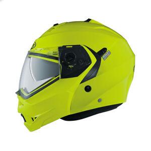 Caberg Duke 2 Haute Visibilité Moto Casque Modulable avec Visière   eBay 1e2e613265f6
