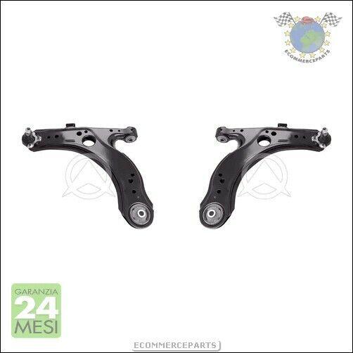 2X Kit Braccio Oscillante Dx+Sx Sidem Ant Per Audi A3 Seat Toledo Ii Leon
