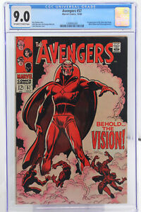 Avengers-57-CGC-9-0-1st-appearance-of-the-Silver-Age-Vision-Marvel-Comics-1968
