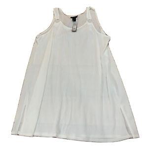 Apt-9-Womens-Plus-Size-Top-Shirt-Blouse-Size-XXL-2XL-White-New-NWT-I114