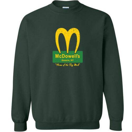 192 McDowells Crew Sweatshirt coming 80s movie america funny soul costume
