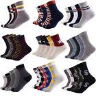 5 Pairs Lots Fashion Men's Socks Casual Cotton Casual Dress Socks Sports Socks