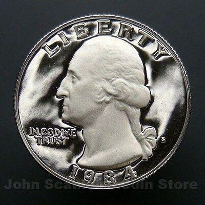 1997 S Gem Proof SIlver Washington Quarter Deep Cameo-90/% Silver