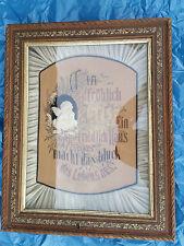 Haussegen mit Spieluhr Ein fröhlich Herz ein friedlich Haus macht das Glück des