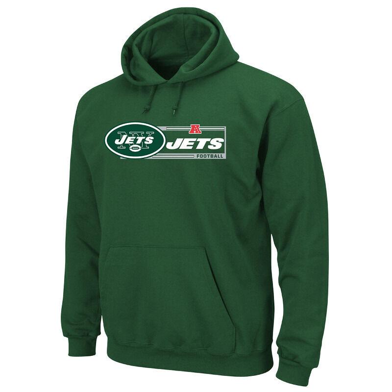 NFL FOOTBALL FOOTBALL NFL Nuovo York Jets Hoody Hoodie kaputzenpullover VICTORY 7 Hooded Sweater 55ca65