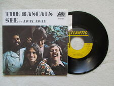 "45T 7"" THE RASCALS ""See / Away Away"" ATLANTIC 650 167 FRANCE §"