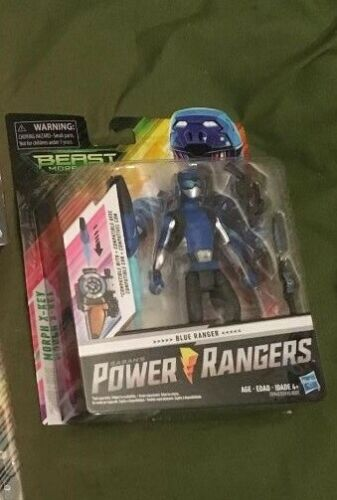 Power Rangers Hasbro Bête Morphers Blue Ranger