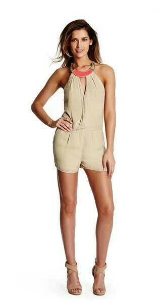 GUESS BY MARCIANO ANAIS CHAINED ROMPER