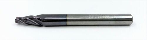 "Group of 3-1//8/"" Carbide Endmill 4 Flute Flat Bottom 7 deg taper per side TiAlN"