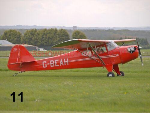 1 X AUSTER AIRCRAFT PHOTOGRAPH