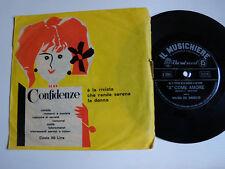 """WILMA DE ANGELIS: A come amore  7"""" flexidisc SAN REMO 1961 - IL MUSICHIERE 20060"""