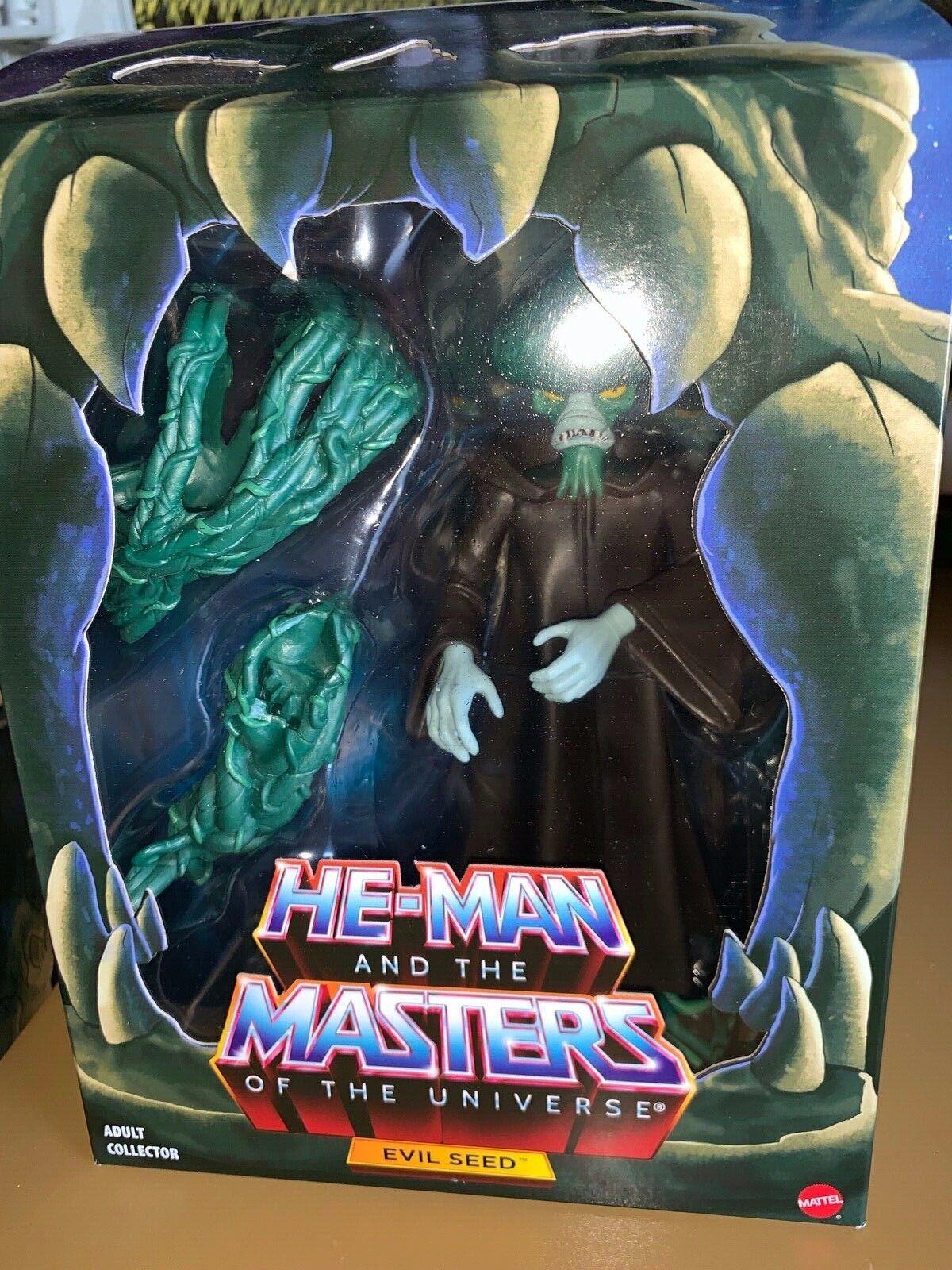 Motuc Masters Of The Universe Classics Filmation mal semilla Nuevo Raro