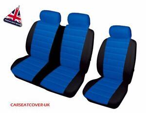 2+1 Heavy Duty Leather Look Van Seat Cover Protectors Peugeot Boxer LWB