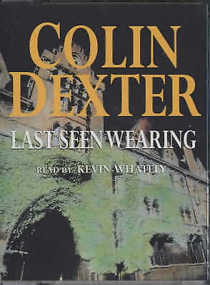 1 of 1 - Last Seen Wearing by Colin Dexter - Audio Cassette, abridged NEW SEALED