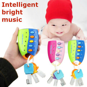 Baby-Kids-Musical-Smart-Remote-Car-Key-Toy-Voices-Pretend-Play-Education-Toys-1