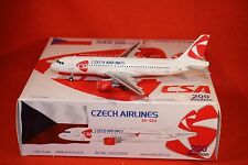 AV200 CZECH AIRLINES AIRBUS A320 WITH STAND reg OK-GEA 1-200 SCALE